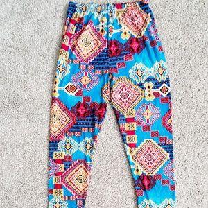 Aztec style leggings